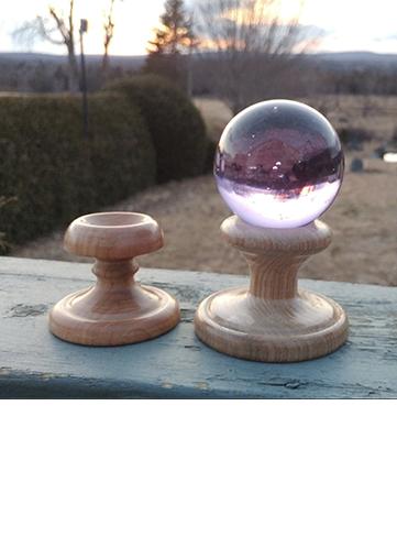 supports à boules de cristal